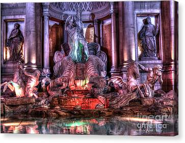 Trevi Fountain Canvas Print by Kevin Ashley