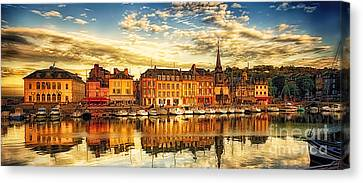 D700 Canvas Print - May Evening Honfleur by Jack Torcello