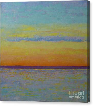 May Sunset Canvas Print by Gail Kent