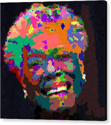 Maya Angelou - Abstract Canvas Print