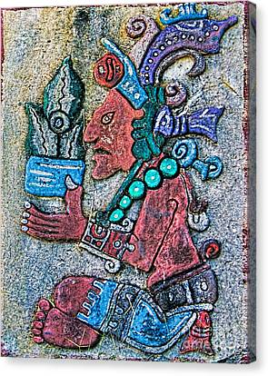 Mayan Mythology Canvas Print - Maya Legends by Olga Hamilton