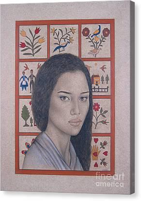 Maya Canvas Print by Lynet McDonald