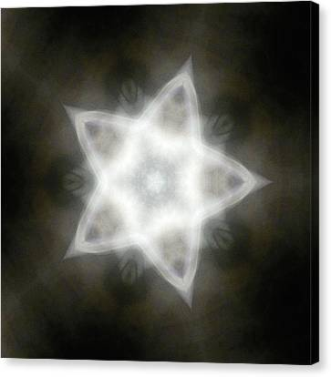 Mayan Star Canvas Print by Lisa Lipsett