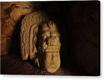 Mayan Tomb Canvas Print