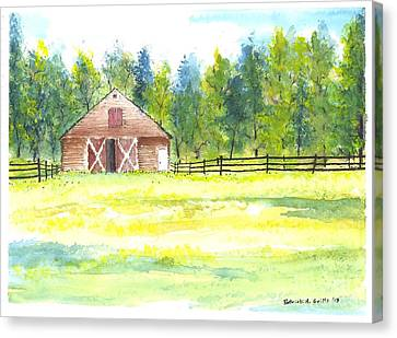 Mayberry's Barn Canvas Print