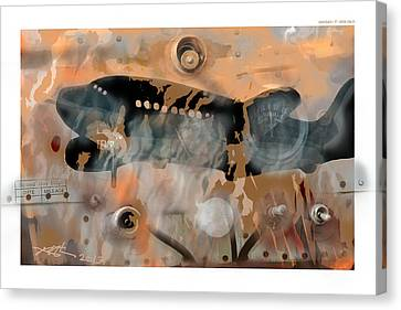Mayday Canvas Print by Bob Salo