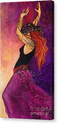 Mayfire Canvas Print by Dori Hartley