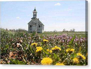 Mayflower Church Canvas Print