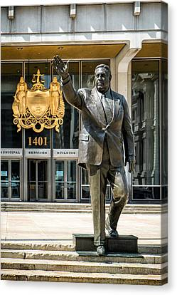 Mayor Frank L. Rizzo Monument Canvas Print