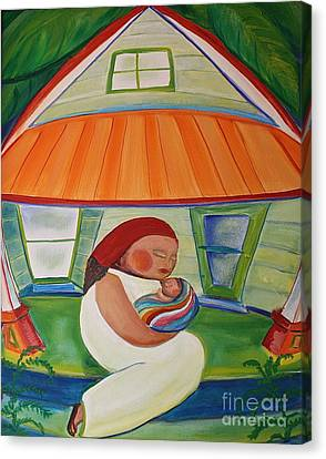 May's Baby Canvas Print by Teresa Hutto