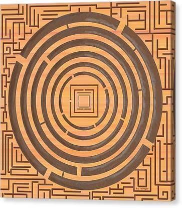Maze 2 Canvas Print by Tim Stringer
