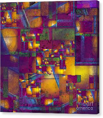 Maze Of The Heart Canvas Print