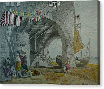 Mazorbo Venice Lagoon Canvas Print