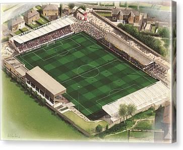 Mccain Stadium - Scarborough Canvas Print