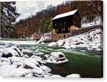 Mcconnell's Mill Canvas Print by Marcia Colelli