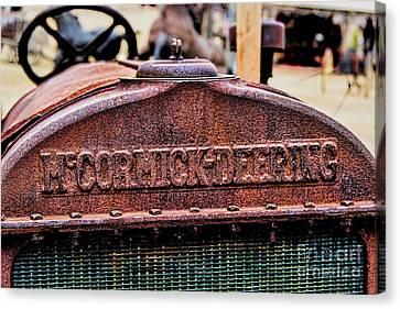 Mccormic Deering Canvas Print by Jon Burch Photography
