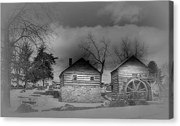 Mccormick Farm 2 Canvas Print by Todd Hostetter