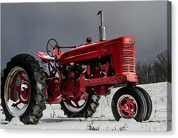 Mccormick Farmall 2 Canvas Print