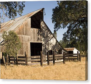 Mccourtney Barn  Canvas Print