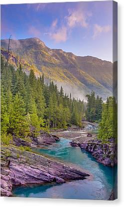 Mcdonald Creek Canvas Print