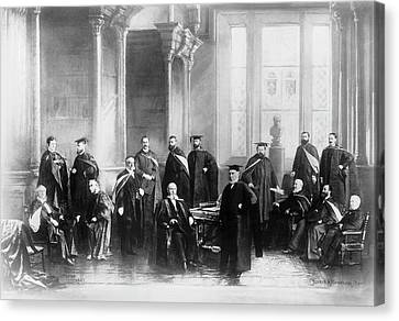 L. Palmer Canvas Print - Mcgill University's Medical Faculty by National Library Of Medicine