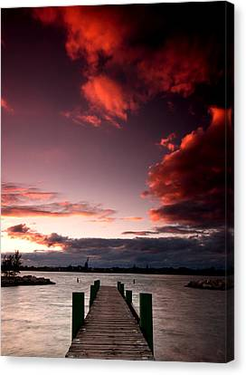 Mckee Sunset Two Canvas Print