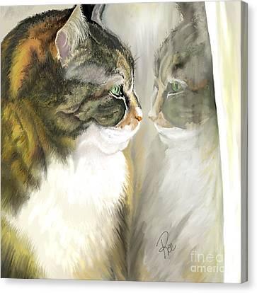 Canvas Print - Mckenzie  by Maria Schaefers