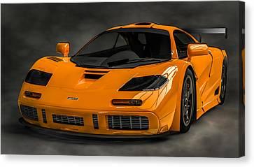 Mclaren F1 Lm Canvas Print by Louis Ferreira