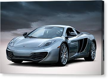 Mclaren Mp4 12c Canvas Print by Douglas Pittman