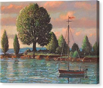 Mcmeekins Point Canvas Print