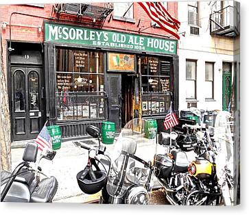 Mcsorley's Old Ale House Canvas Print