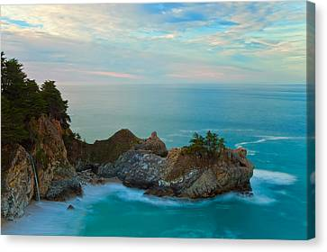 Mcway Falls At Sunrise Canvas Print