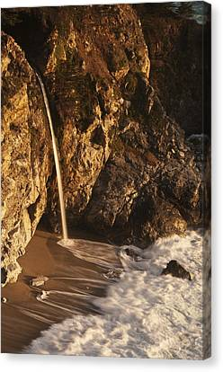 Canvas Print featuring the photograph Mcway Falls 3 by Lee Kirchhevel