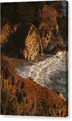 Canvas Print featuring the photograph Mcway Falls 4 by Lee Kirchhevel