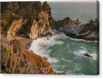 Canvas Print featuring the photograph Mcway Falls 5 by Lee Kirchhevel