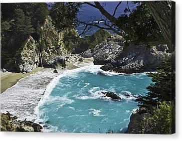 Mcway Falls - Big Sur Canvas Print