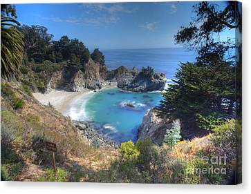 Pfeiffer Canvas Print - Mcway Falls by Marco Crupi