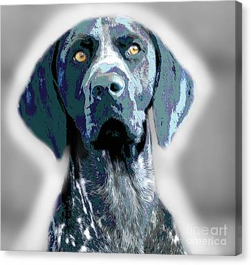 Me Good Dog Canvas Print by Jo Collins