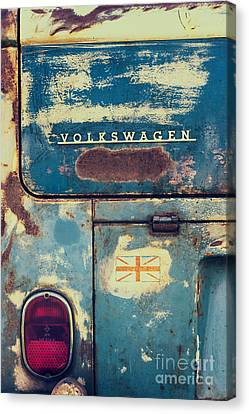 Rusted Cars Canvas Print - Me Old Dub by Tim Gainey