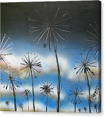 Canvas Print - Meadow At Dawn by Joan Stratton