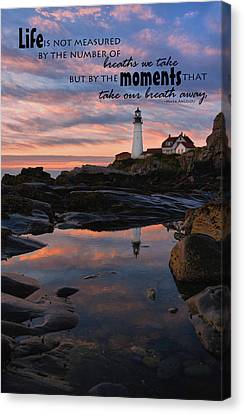 Measure Of Life Canvas Print