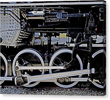 Mechanical Advantage Canvas Print by Cheri Randolph