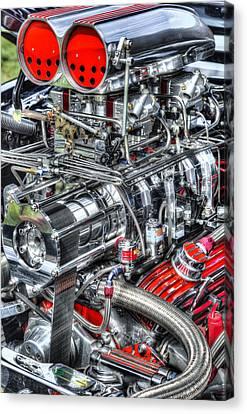 Mechanics Canvas Print by Bill Wakeley