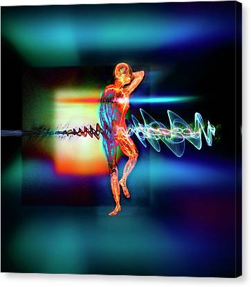 Medical Body Imaging Canvas Print by Richard Kail
