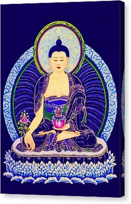 Medicine Buddha 6 Canvas Print
