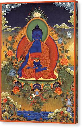 Medicine Buddha 8 Canvas Print