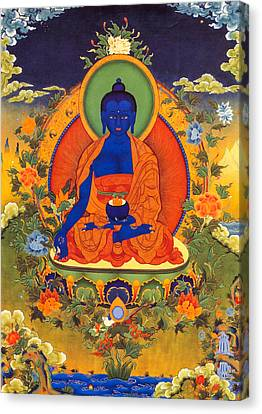 Medicine Buddha Canvas Print