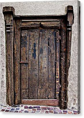Medieval Door Canvas Print by Russ Murry