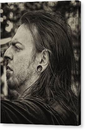 Medieval Festival Ft. Tryon Pk Nyc  21013 Pierced Ear Canvas Print