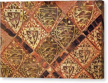Medieval Floor Canvas Print by Sinclair Stammers